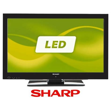 Second Led Sharp 32 buy sharp lc32le511e 32 inch widescreen hd 1080p led backlit tv with freeview hd usb