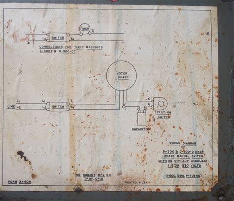 Hobart Mixer Wiring Diagram   Get Free Image About Wiring