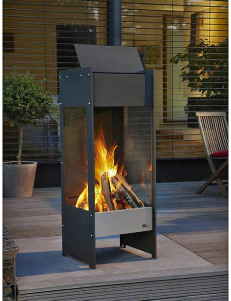 Chiminea Philippe by Wood Burner Patio Heater Modern Patio Outdoor