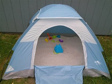The Tents Are Here To Stay 2 by Use A Tent Fill It With Play Sand Voil 224 Can