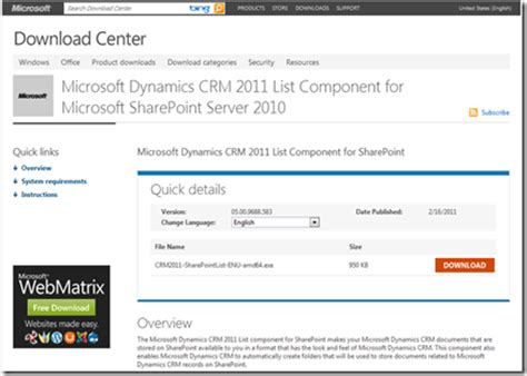 download microsoft dynamics crm 2011 list component for fashion microsoft dynamics crm online insights installing the crm