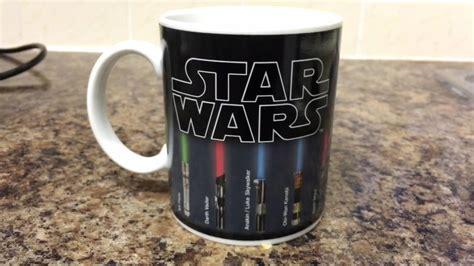 wars color changing lightsaber wars lightsaber colour changing mug