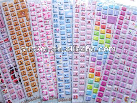 Keyboard Decorations by Diy Keyboard Stickers Kamos Sticker