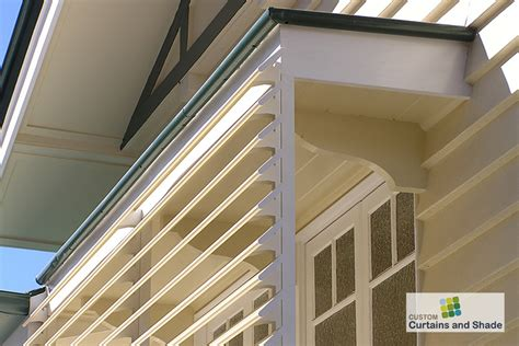 aluminium louvre awnings awnings custom curtains and shadecustom curtains and shade