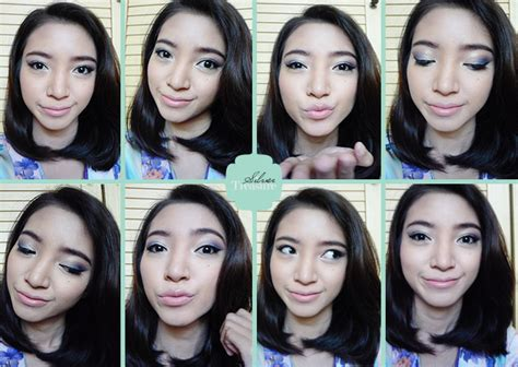 Tutorial Eyeshadow Wardah Coklat make up wardah untuk kulit sawo matang saubhaya