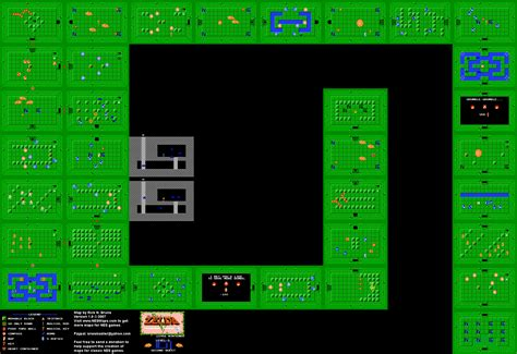 legend of zelda map for sale the legend of zelda level 8 quest 2 nes map gabe s