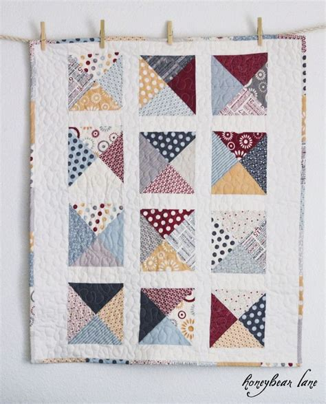 Quilt Pattern Using Charm Packs | letters from home quilt pattern patterns baby quilts