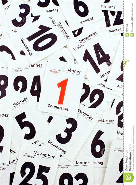 Hojas Calendario Hojas Calendario Imagenes De Archivo Imagen 7061184