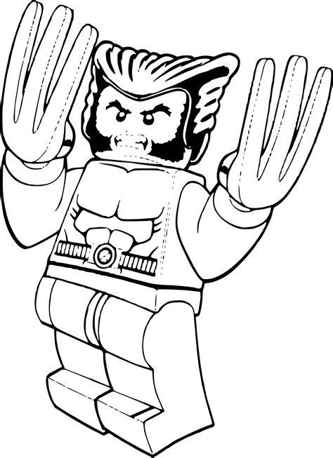 Coloriage Lego Wolverine 224 Imprimer Sur Coloriages Info