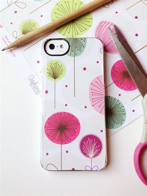 How To Make A Paper Phone Easy - easy way to personalize your iphone cover happy happy nester