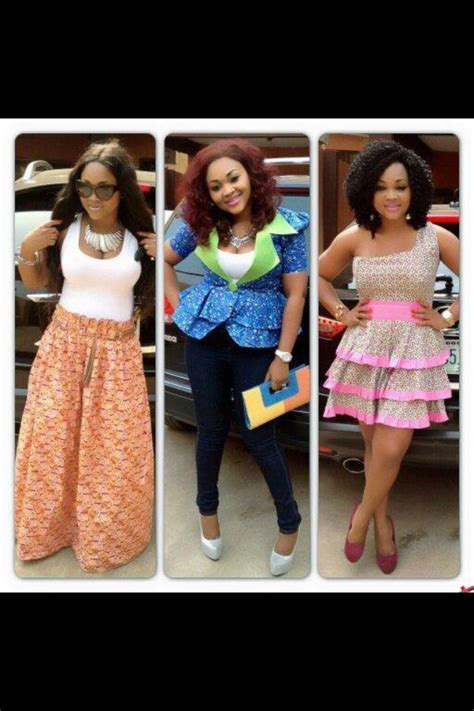 mercy aigbe with ankara styles mercy aigbe looking fabulous african fashion ankara