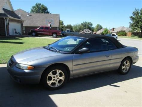 1999 Chrysler Sebring Jxi Convertible by Sell Used 1999 Chrysler Sebring Convertible Jxi In