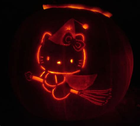 jack o lantern templates hello kitty halloween s coming and that means cool cute jack o