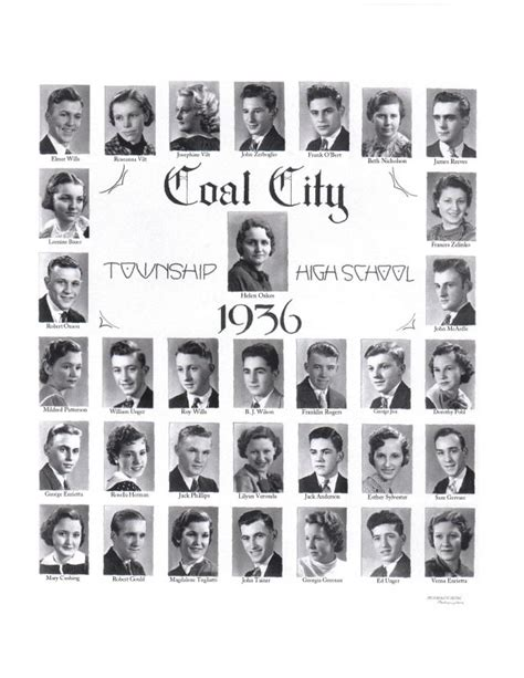 Grundy County Il Court Records Coal City High School Class Of 1936 Grundy County Ilgenweb