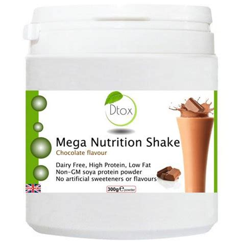 Swiss Detox Diet by Mega Nutrition Shake Chocolate Flavour Detox Foods