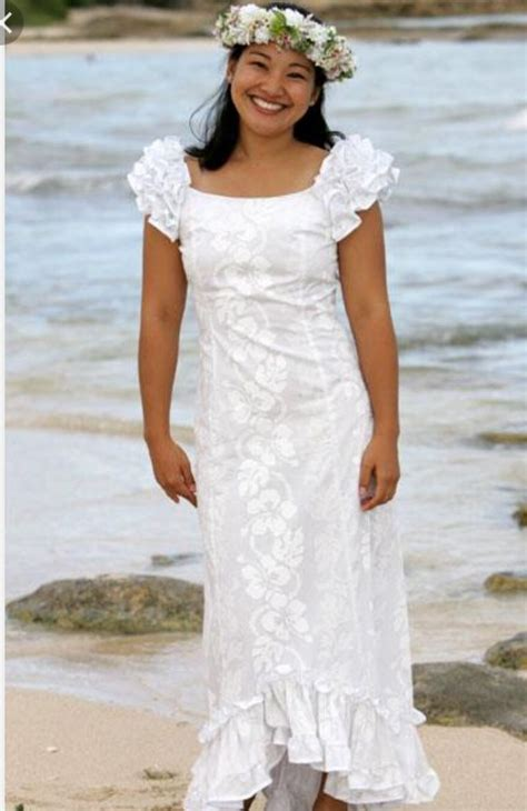 9 best Hawaiian Wedding Dresses images on Pinterest
