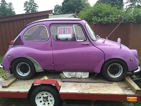 subaru 360 car 1969 subaru 360 deluxe micro car restoration project for sale