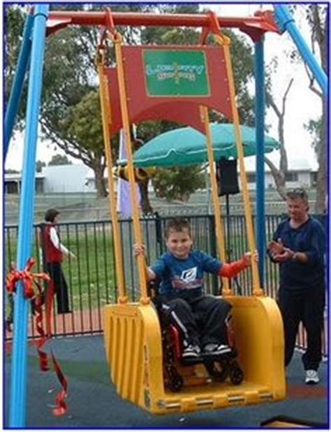 swing sets adults can use 1000 images about accessible play on pinterest
