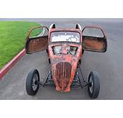 1937 37 FIAT TOPOLINO DRAGSTER GASSER ALTERED FUEL ALL