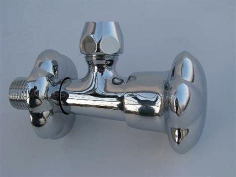 shut off valve for bathtub vintage new old stock moen chrome kitchen or bathroom