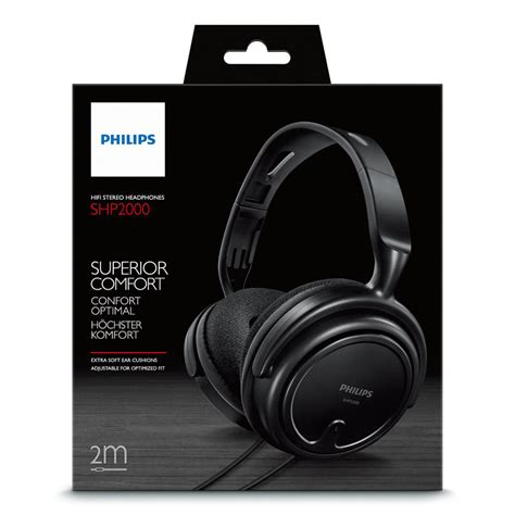 Headset Philips Shp2000 綷 綷 philips shp2000