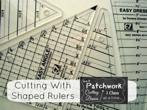 quilters rulers and templates using quilt templates and specialty rulers to cut fabric