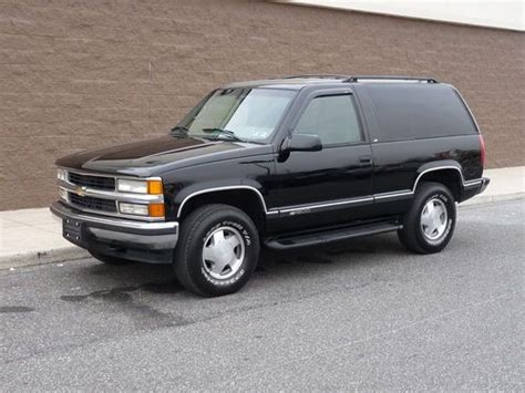 automobile air conditioning service 1996 chevrolet tahoe engine control purchase used 1996 chevrolet tahoe ls 2 door 5 7l 4wd k5 full size two door blazer in
