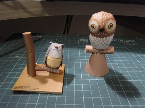 Papercraft Owl - owl papercraft by bslirabsl on deviantart