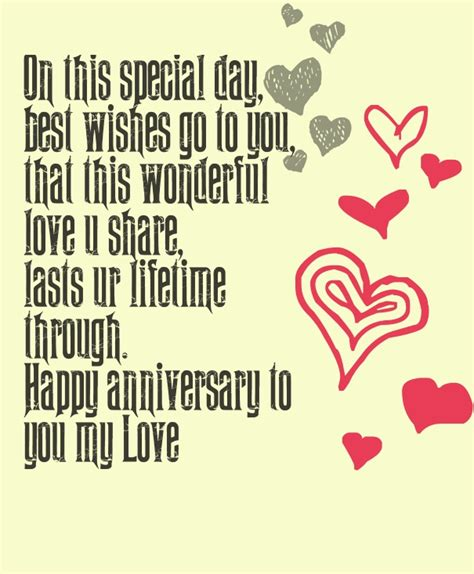 Marriage Anniversary Card Quotes by Engagement Wedding Anniversary Quotes Messages And