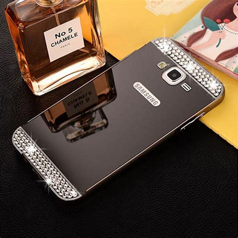 Sarung Hardcase Motomo Mirror Aluminium Samsung Grand Prime G530 luxury aluminum metal frame mirror cover for samsung galaxy phone ebay