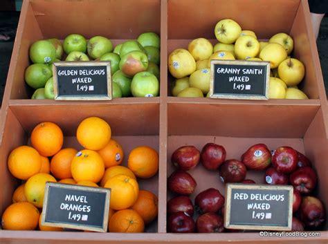 fruit 8 studio disney dining tip fruity snacks in the disney parks the