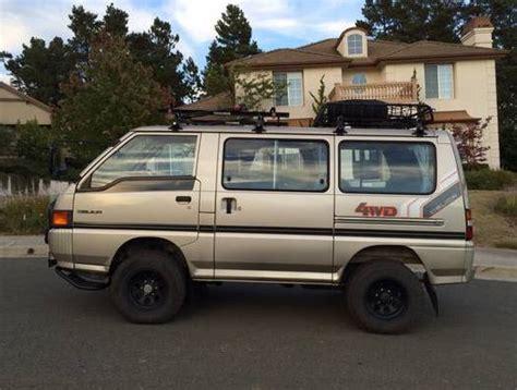 mitsubishi delica parts 1986 mitsubishi delica 4 215 4 turbo diesel bring a trailer