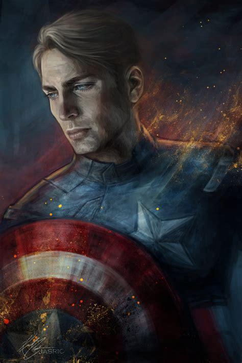 captain beautiful captain america by jasric on deviantart