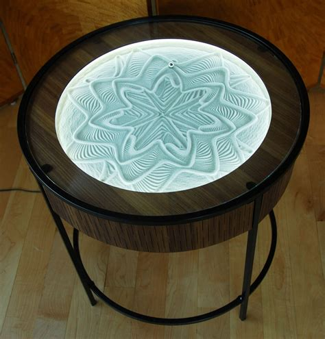 Sand Coffee Table Bruce Shapiro Creates Mesmerizing Kinetic Sand Drawings Coffee Tables