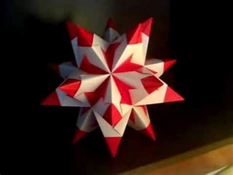 Origami Stellated Dodecahedron - the great stellated dodecahedron modular origami