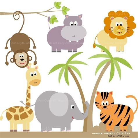 printable animal graphics animal baby clipart zoo clipart collection clipart