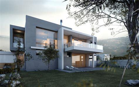 3d architecture design small villa lebanon by wassim alam architecture 3d cgsociety