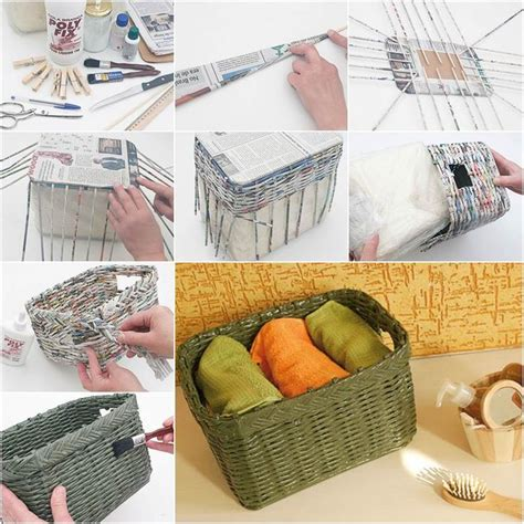 Useful Paper Crafts - best 20 newspaper ideas on the journal