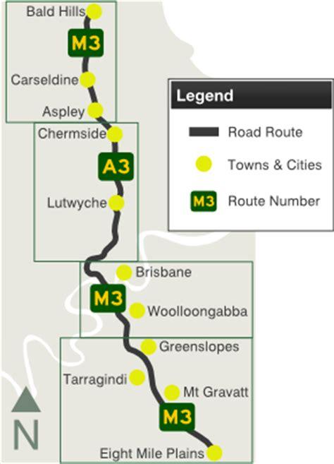 road  information pacific motorway coronation