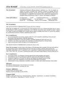 Tax Consultant Description by Sle Resume Format February 2015