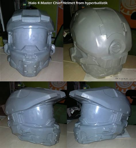 How To Make A Master Chief Helmet Out Of Paper - halo 4 costume build undersuit glove and rail gun