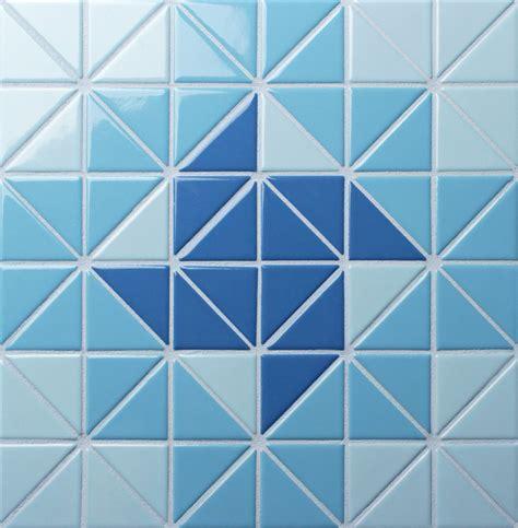 mosaic pattern triangle 2 triangle santorini wheel artistic swimming ocean pool