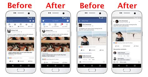 fb product facebook has a new look come spot the differences