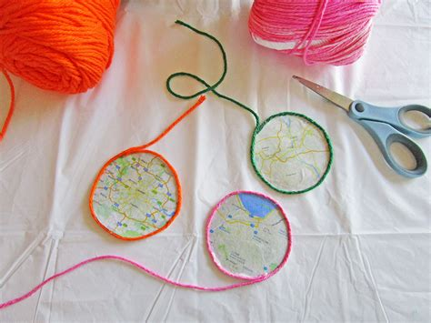 craft map diy map crafts for