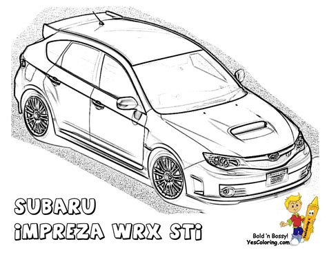 370z Coloring Page by Powerful Car Printables Free Printables Sposrts