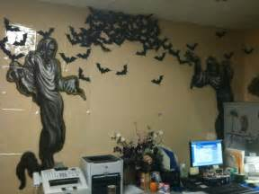 Office Decorations For Halloween Halloween Office Decor Bat Swarm Harvest And Halloween