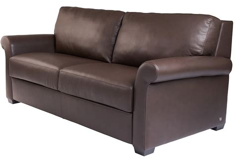 genuine leather sleeper american leather sofa bed sectionals by american leather