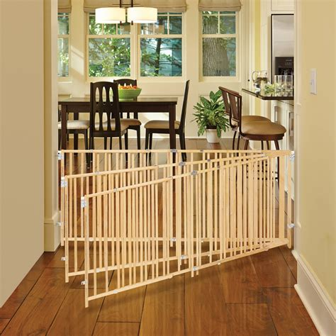 north state extra wide swing gate wood baby gate extending wood baby gate child gate wooden