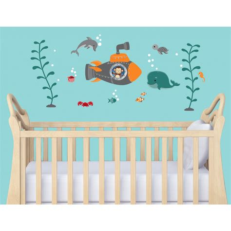 Nautical Wall Decals For Nursery Nautical Decor For Baby Nursery Palmyralibrary Org