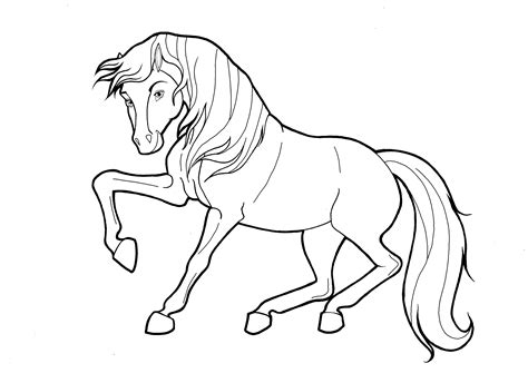 coloring pages horses spirit pictures spirit coloring pages 27 for images with